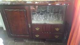 solid Imbuia buffet cabinet+-50 years old