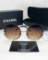 Модные женские солнцезащитные очки круглые Chanel люкс Распродажа! 4a72fd14c855b
