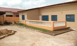 3bedroom self compound around kasoa toll booth 2yrs very executive