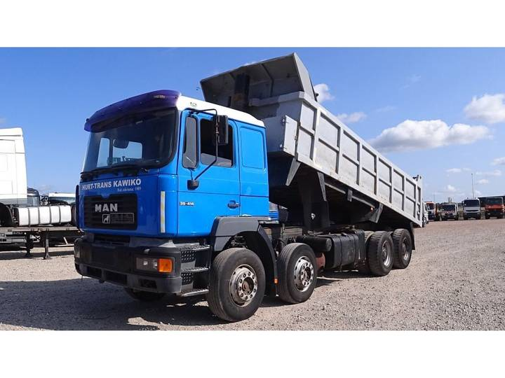 MAN 35.414 (BIG AXLE / STEEL SUSPENSION / 6 CYLINDER ENGINE) - 2001
