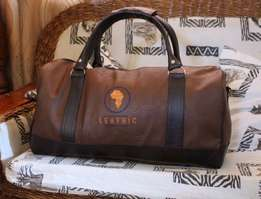 Customised travelling leather Bags