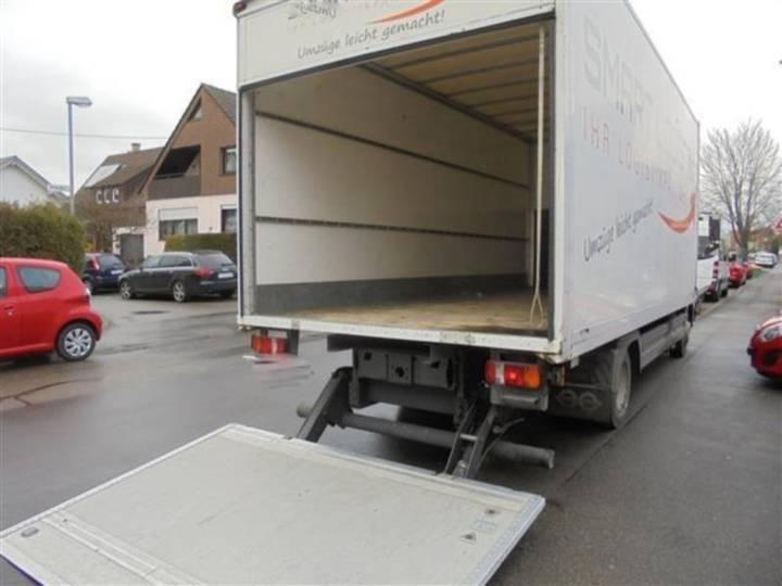 Mercedes-Benz Atego 816 4x2 OM 904 Koffer/LBW - 2011
