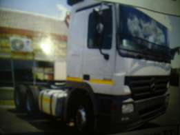 For hire Horse truck Mercedes-Benz Actros Mp2 3348 double axle