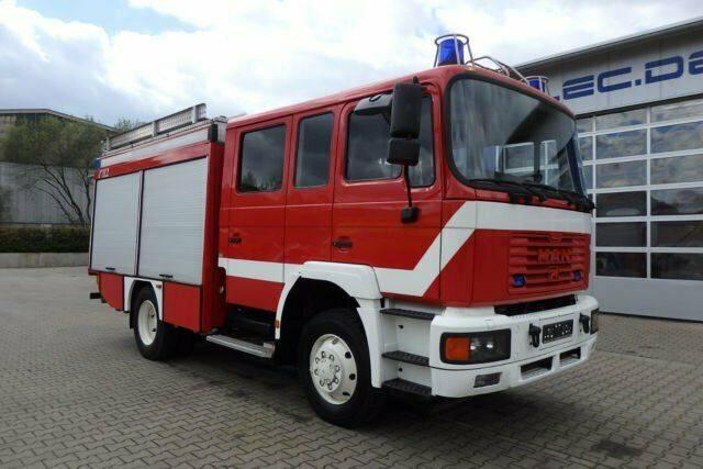 MAN 14.224 4x2 Euro2 Feuerwehr 1200 Liter Wassertank - 2001