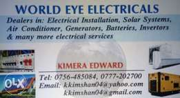Driver / Electrician... Safety and Professionalism