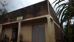 Commercial structure seated on 80ftby60ft in seeta on sale