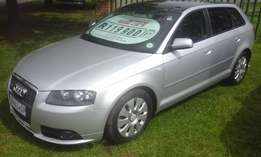 2007 Audi A3 2.0T IS- line, with low mileage and full service history