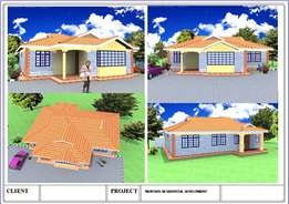 House plans with 2,3,4..bedrooms
