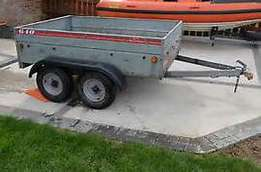 Caddy 640 twin Axle galvanised trailer For Sale