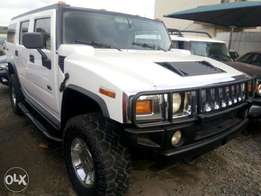 2007 Hummer H2 SUV White very clean