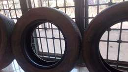 four new japan noah tires for sell