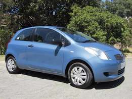 2007 model Toyota - Yaris T1 3 Door A/C which has done 167000 km