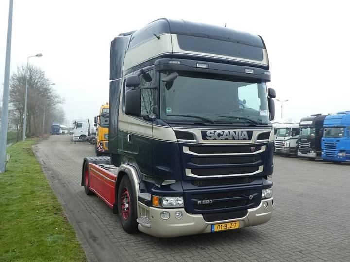Scania R520 v8 retarder 2x tank - 2014