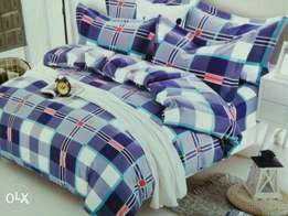 Duvets with one bedsheets and two pillow cases