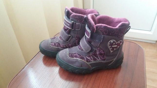 caa2e4a0b Термо ботинки Geox весна - осень размер 26 для девочки Киев - изображение 2