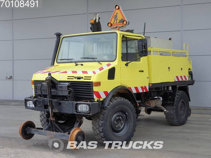 Mercedes-Benz Unimog 424A U1250 4X4 Hydraulik - 2 way Road Rail - Press... - 1987