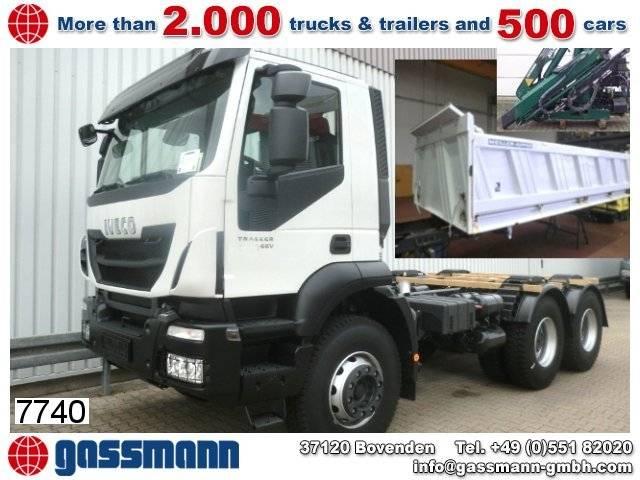 Iveco Trakker AD260T41 6x4 mit Kran - 2007
