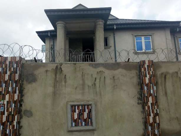 Executive newly built 3 bedroom flat all tiles floor at Baruwa Ipaja Alimosho - image 1