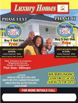 Dry Land for sale at Luxury Homes Phase 1 Ext, Ibeju Lekki