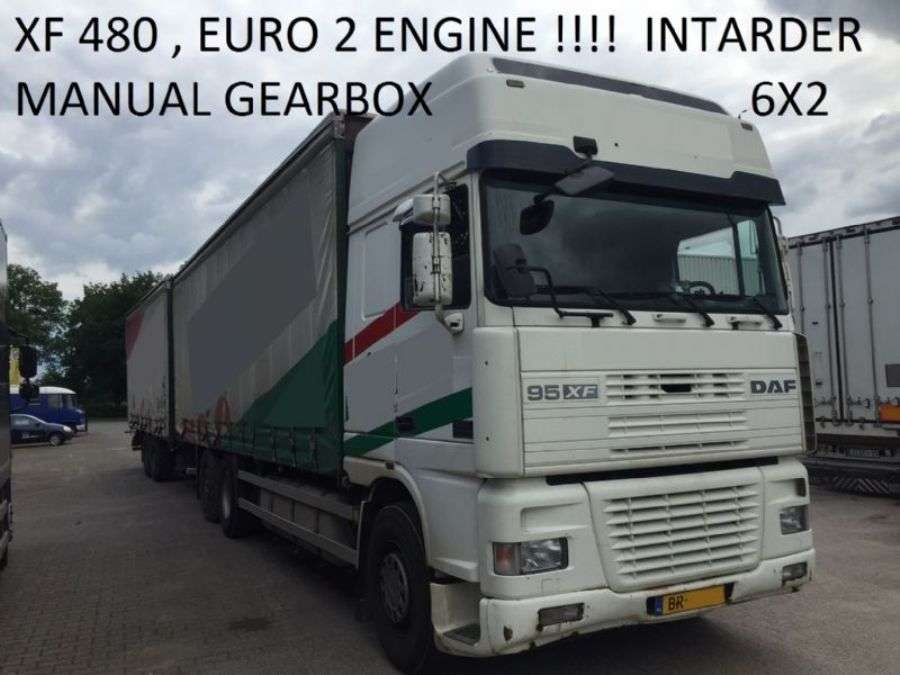 DAF Euro 2 , 480 Hp Manual Gearbox Intarder 817000 Km Holland Truck - 2000