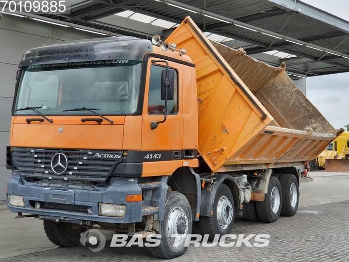 Mercedes-Benz Actros 4143 K 8X6 Manual BigAxle SteelSuspension 15m3 Euro 3 - 2000