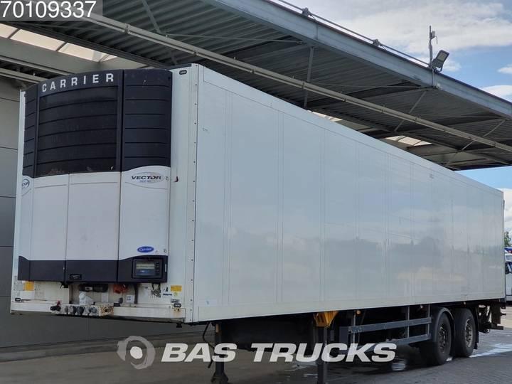 Schmitz Cargobull SKO18 Carrier Vector 1800 Mt 2 axles Lenkachse Ladebordwand - 2004