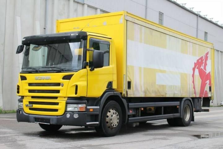 Scania P340 4x2 Euro3 LBW AHK 2 NUR 288TKM - 2005