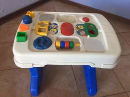 Toddler Educational Activity Table