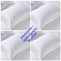 White Bedsheets