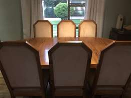 Price Reduced! Solid Oak Dining room, Server, Wall Unit