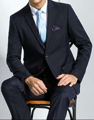 All shades of dark blue male suits. FREE DELIVERY. Nairobi CBD - image 2