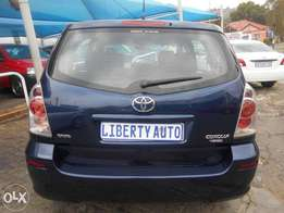 Toyota Verso 2005 1.6 Dual Vvti Engine 7Seater Manual Gear