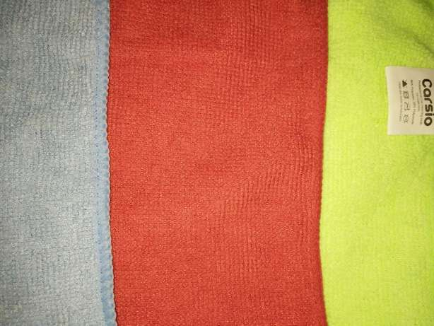SET OF 3 LARGE Microfibre cleaning quality Car Detailing Cloths Donholm - image 3