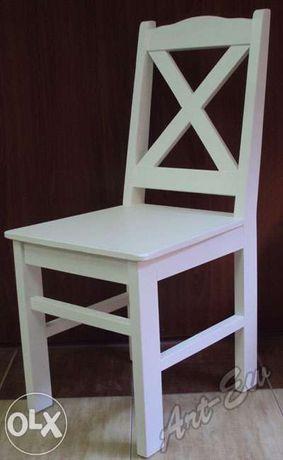 Krzesła Drewniane Sosnowe Nowe Producent Czarna Woda