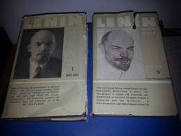 Lenin Collected Works Books Volume 1 and 9