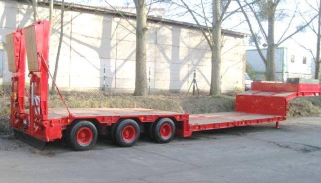 Goldhofer STZ TL3 32/80 STZ TL3 32/80 Nutzlast: 35 to., 5,85 m - 1989