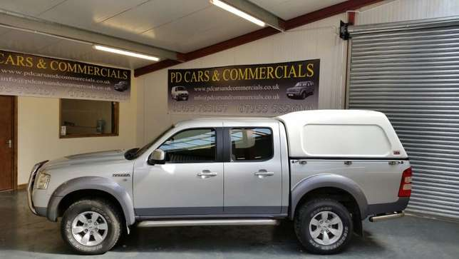 Ford Ranger Double Cabin 2010. Ex-UK Manual - 4WD 2500cc Diesel Mtwapa - image 3