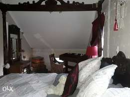 Indonesian king size four poster bed