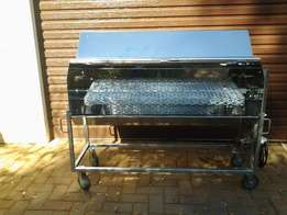 Stainless steel large cater boude Spit Braai up to 45kg