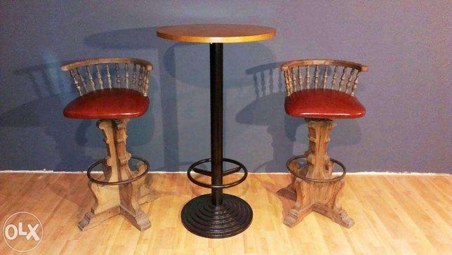 Krzesła Barowe Hokery Hoker Stolik Barowy Koktajlowy