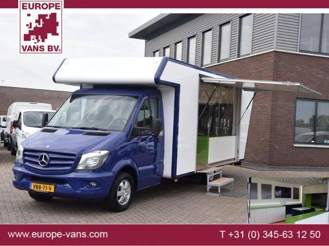 Mercedes-Benz Sprinter 316 CDI E6 Mobiele praktijk / kantoor / D - 2015