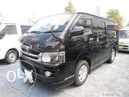 Black diesel auto super GL Matatu hiace box 7l finance terms accepted