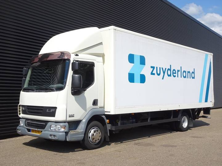 DAF LF 45G12 EEV / CLOSED BOX TAIL LIFT / LBW - 2009