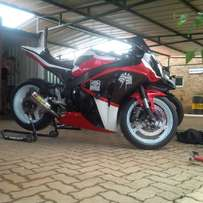 CBR1000RR track bike for sale.