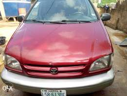 registered Toyota Sienna 2002 XLE with low mileage for sale
