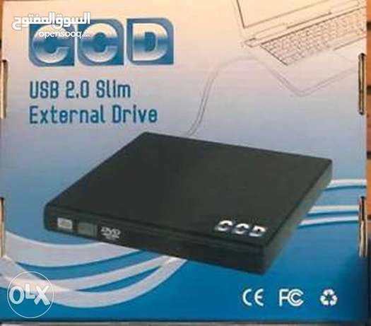 CCD Portable USB Optical Drive CD-RW