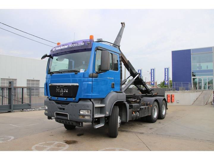 MAN TGS 33.480 H 6x6 - CONTAINERSYSTEEM/TREKKER - 2009