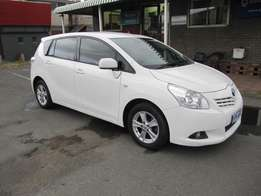 Immaculate !!! 2010 Toyota Verso 1.8 TX 7 Seater