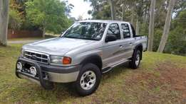 Ford Ranger Double Cab bakkie in a very good condition