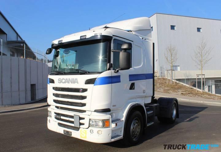 Scania G410 4x2 LA  frisch ab MFK - 2014